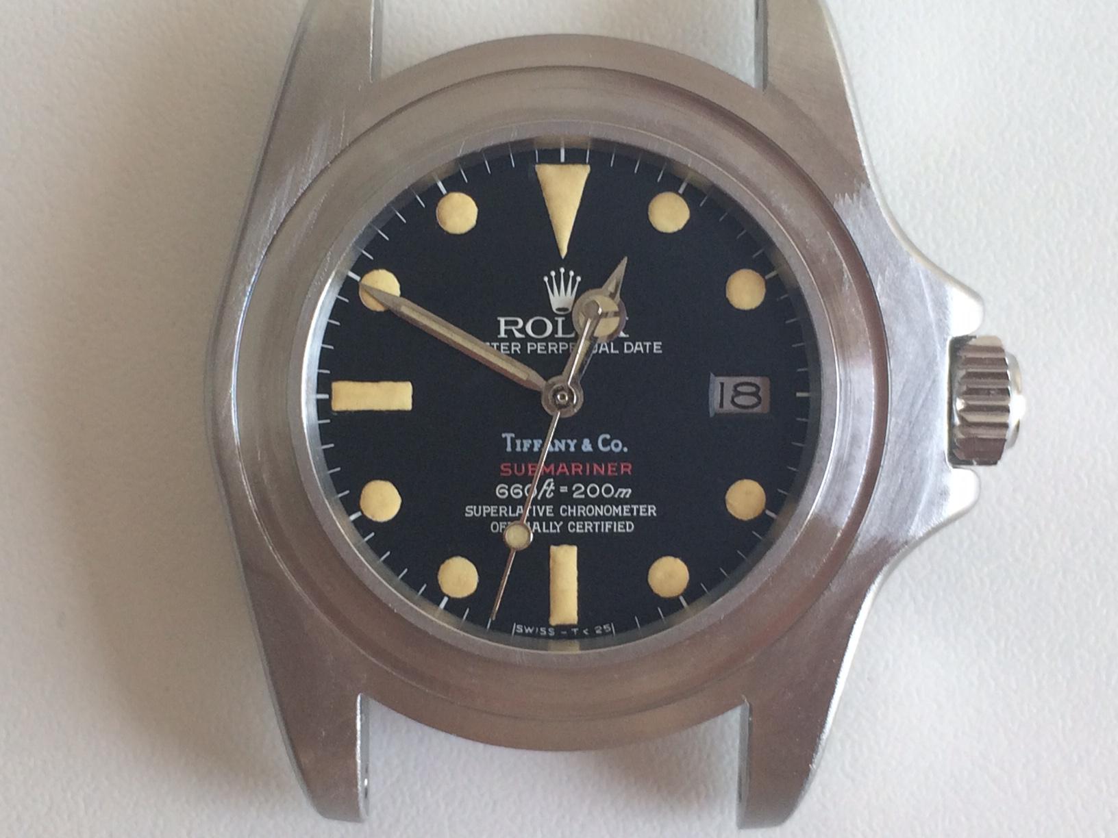 ROLEX Red Submariner 1680 Tiffany - Ιδιοκατασκευές
