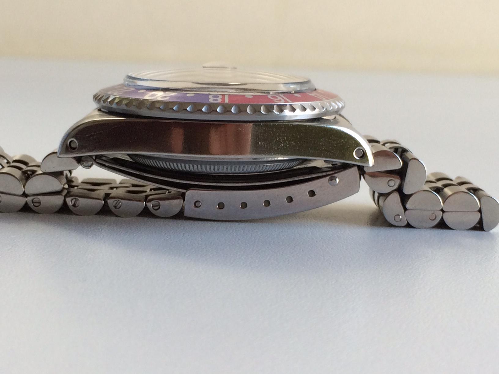 Rolex GMT Ref. 1675 El Cornino PCG - Ιδιοκατασκευές