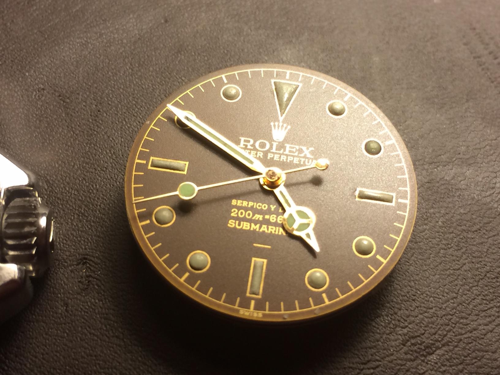 Ιδιοκατασκευή – Rolex 5512 Serpico Y Laino - Ιδιοκατασκευές