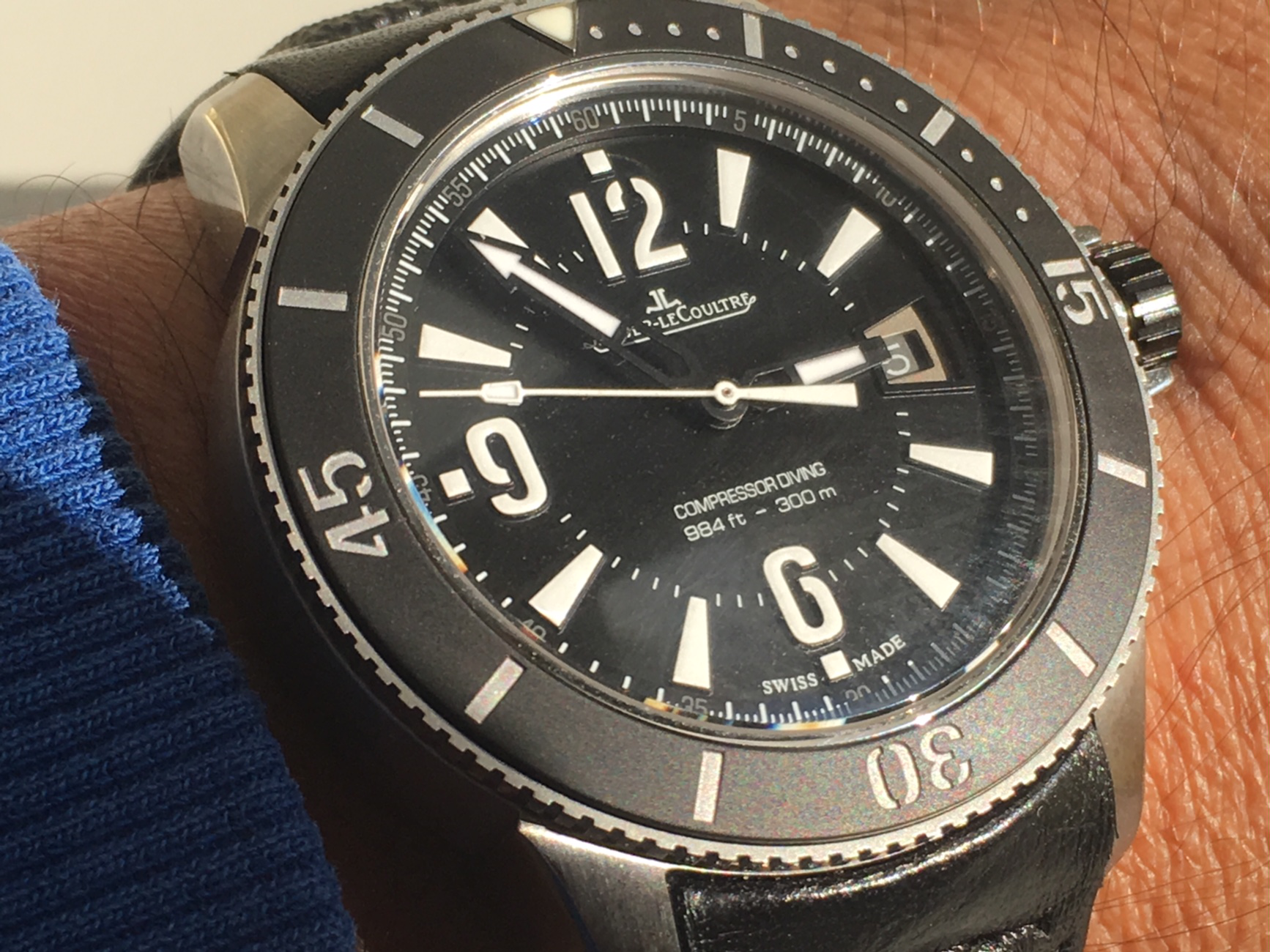 Jaeger-LeCoultre Master Compressor Diving Navy SEALS - Ρολόγια Replica