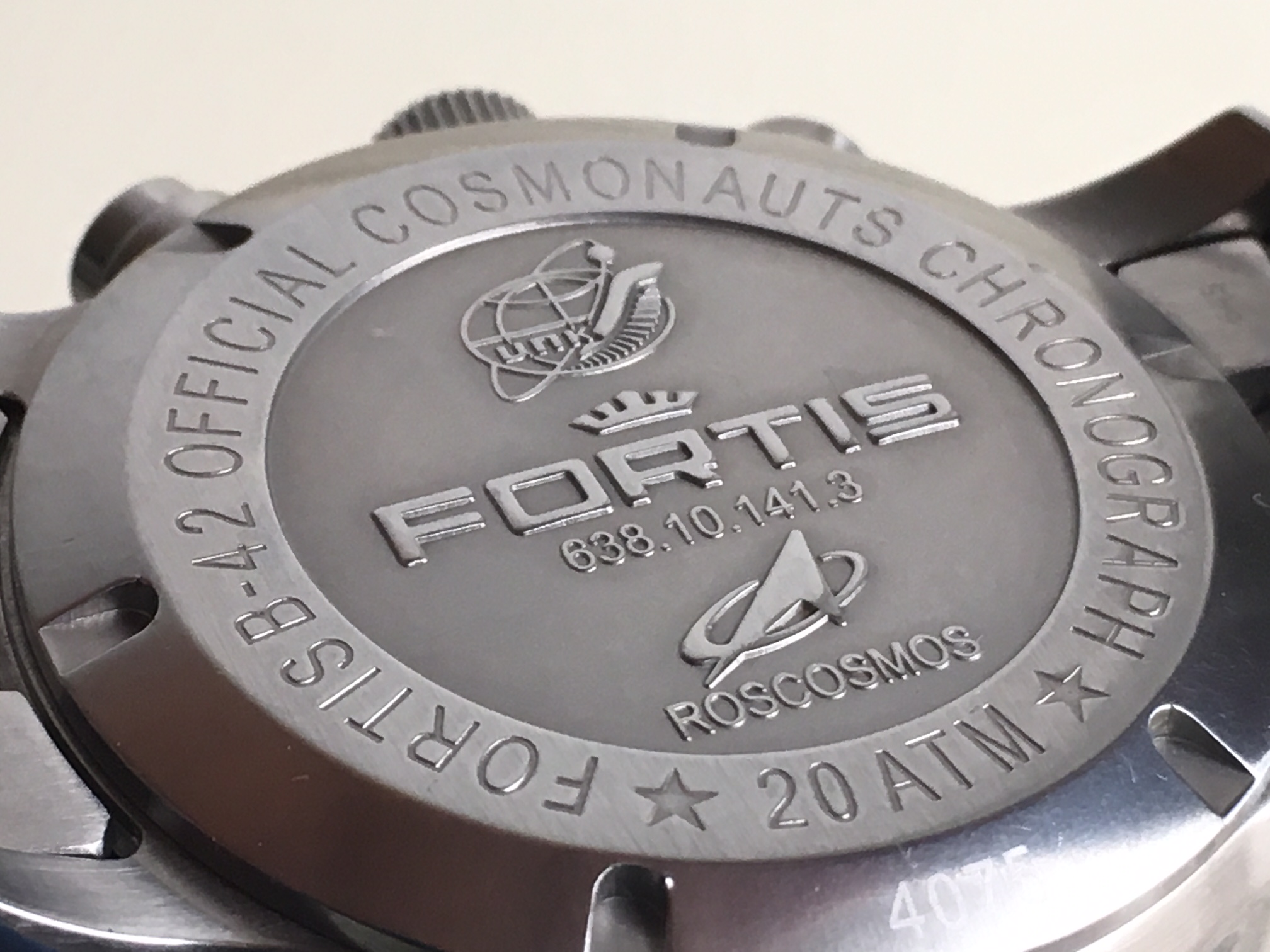 Fortis B-42 Official Cosmonauts Chronograph - Υπόλοιπες εταιρείες
